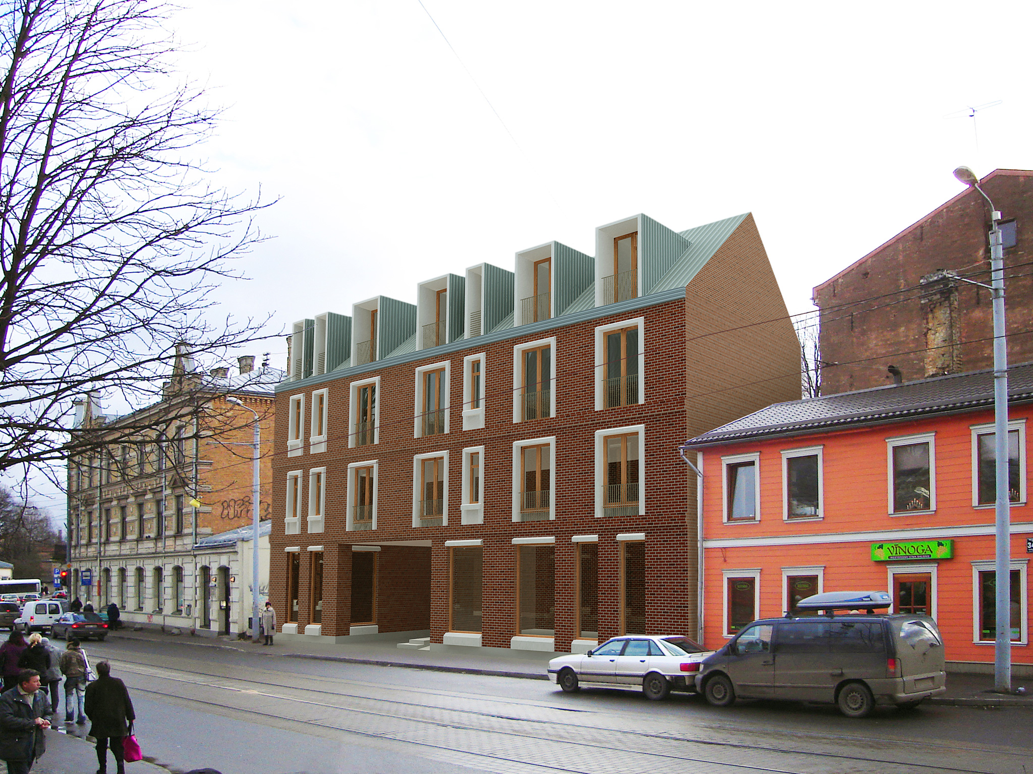 Apartment Building on Nometņu Street